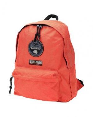 Рюкзаки и сумки на пояс NAPAPIJRI. Цвет: оранжевый
