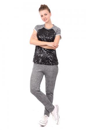 Спортивные брюки Gaudi Jeans. Цвет: чёрный