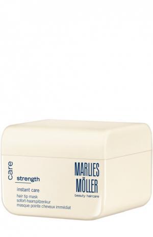 Маска мгновенного действия для кончиков волос Marlies Moller. Цвет: бесцветный