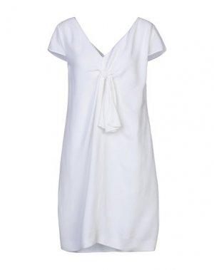 Короткое платье LANVIN. Цвет: белый