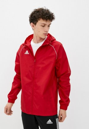 Ветровка adidas CORE18 RN JKT. Цвет: красный