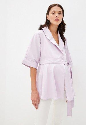 Блуза Olesya Zubova Purpleday. Цвет: фиолетовый