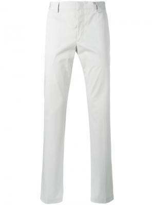Классические брюки чинос Lanvin. Цвет: телесный