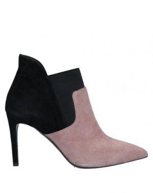 Полусапоги и высокие ботинки GIANNI MARRA. Цвет: пастельно-розовый
