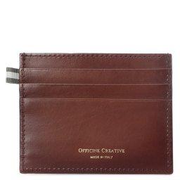 Холдер д/кредитных карт BOUDIN/22 коричневый OFFICINE CREATIVE
