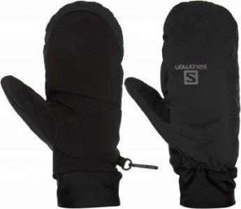 Варежки RS Warm Mitten, размер 8 Salomon. Цвет: черный