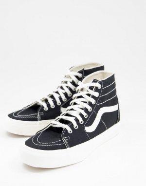 Черные кроссовки SK8-Hi Tapered Eco ory-Черный цвет Vans