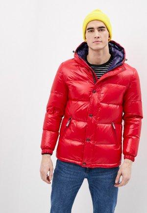 Куртка утепленная Finisterre. Цвет: красный