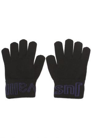 Перчатки Just Cavalli. Цвет: 312 черный