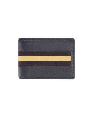 Бумажник DRIES VAN NOTEN. Цвет: стальной серый