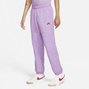 Мужские брюки для скейтбординга SB - Пурпурный Nike