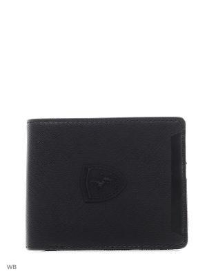 Кошелек Ferrari LS Wallet M PUMA. Цвет: черный