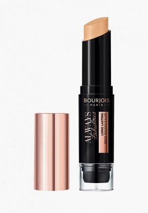 Тональный крем Bourjois Always Fabulous Foundcealer Stick, 210 Light Beige, 9 мл. Цвет: бежевый