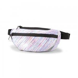 Сумка на пояс Classic Running Waist Bag PUMA. Цвет: белый