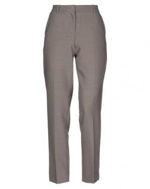 Повседневные брюки VIA MASINI 80. Цвет: голубиный серый