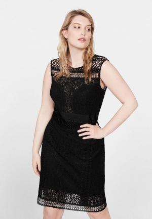 Платье Violeta by Mango - PERON. Цвет: черный