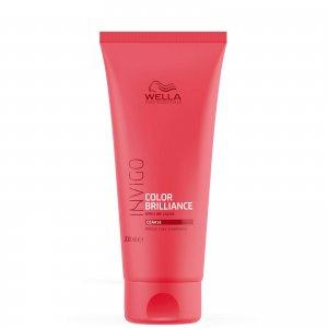 Бальзам-уход для защиты цвета жестких волос INVIGO Color Brilliance Conditioner for Coarse Hair 200 мл Wella Professionals