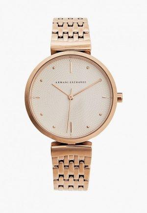Часы Armani Exchange AX5901. Цвет: золотой