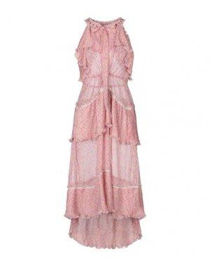 Платье миди ANTIK BATIK. Цвет: пастельно-розовый