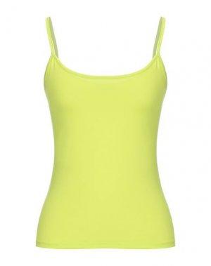 Майка MAX & CO.. Цвет: кислотно-зеленый
