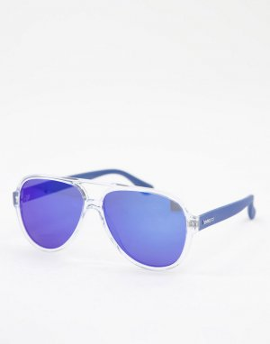 Солнцезащитные очки-авиаторы Leblon-Голубой Havaianas