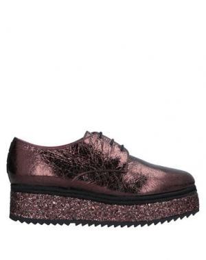 Обувь на шнурках 181 by ALBERTO GOZZI. Цвет: медный