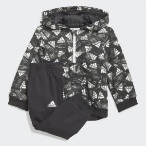Спортивный костюм Badge of Sport Sportswear adidas. Цвет: белый