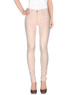 Джинсовые брюки SUPERTRASH. Цвет: бежевый