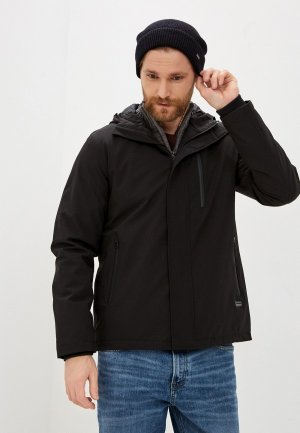 Куртка утепленная Lindbergh. Цвет: черный