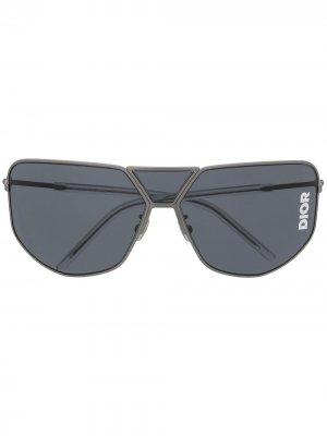 Солнцезащитные очки-авиаторы Ultra Dior Eyewear. Цвет: серый