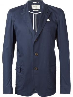 Пиджак Portland Bedford Oliver Spencer. Цвет: синий