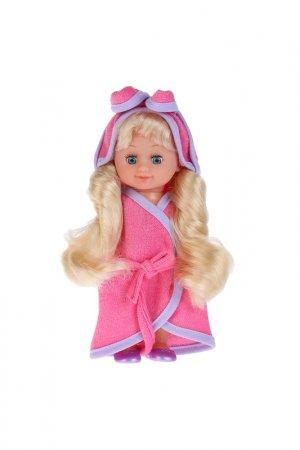 Кукла с ванной и аксессуарами Карапуз. Цвет: розовый