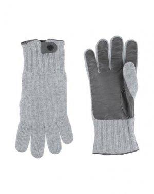 Перчатки HARMONT&BLAINE. Цвет: серый
