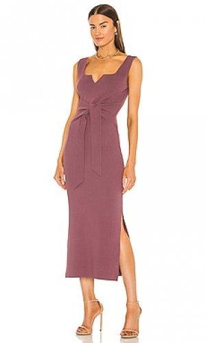 Платье melon Nanushka. Цвет: фиолетовый