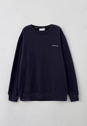 Свитшот Calvin Klein BIG & TALL. Цвет: синий