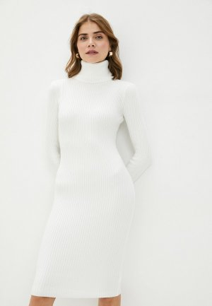 Платье Bigtora. Цвет: белый