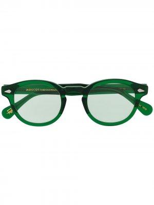 Солнцезащитные очки Lemtosh Moscot. Цвет: зеленый