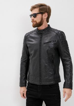 Куртка кожаная Strellson S.C.Rovio. Цвет: черный