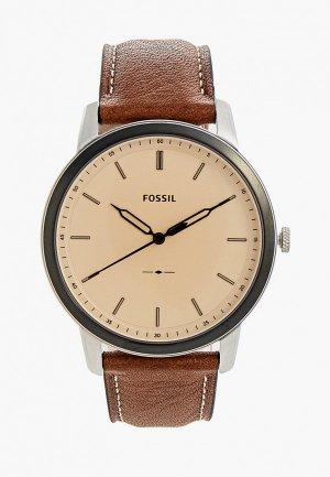 Часы Fossil FS5619. Цвет: коричневый