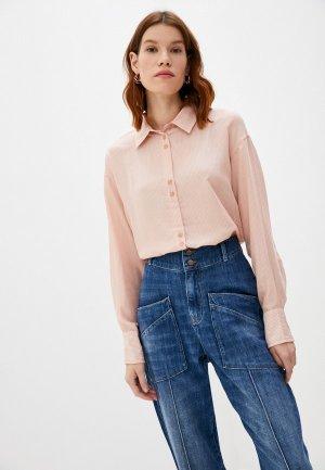 Блуза Ba&Sh. Цвет: коралловый
