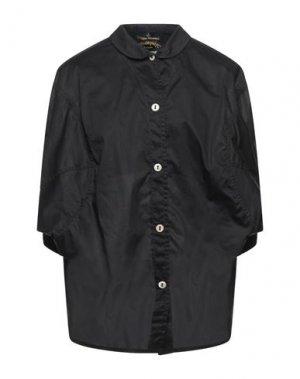 Pубашка VIVIENNE WESTWOOD ANGLOMANIA. Цвет: черный