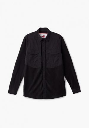 Рубашка FWD lab. Цвет: черный
