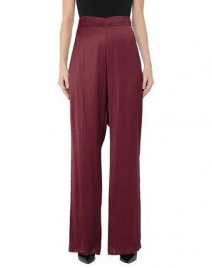 Повседневные брюки CARACTÈRE. Цвет: красно-коричневый
