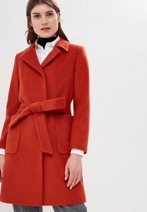 Пальто La Reine Blanche MP002XW1CROU. Цвет: оранжевый