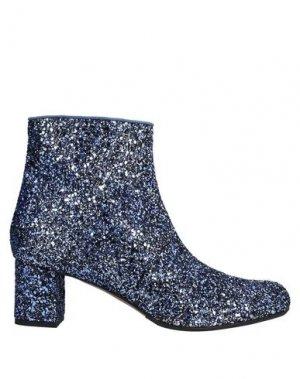 Полусапоги и высокие ботинки ANTONIO BARBATO. Цвет: синий