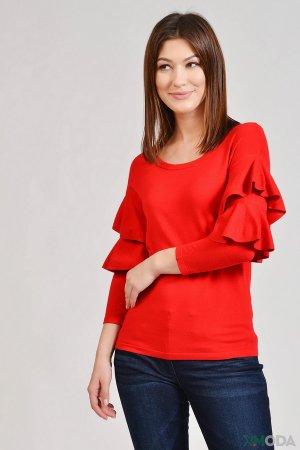 Пуловер Just Valeri. Цвет: красный