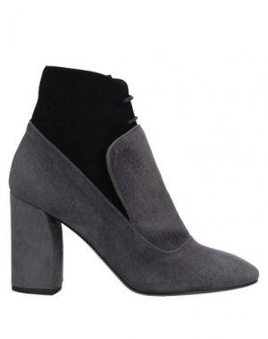 Полусапоги и высокие ботинки MAGLI by BRUNO. Цвет: серый