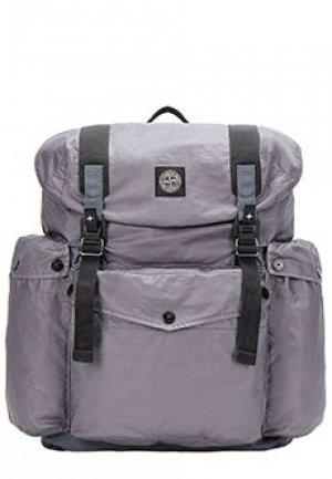 Рюкзак STONE ISLAND. Цвет: серый