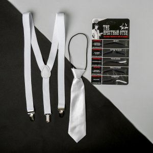 Карнавальный набор let's party, подтяжки, галстук, усы Страна Карнавалия
