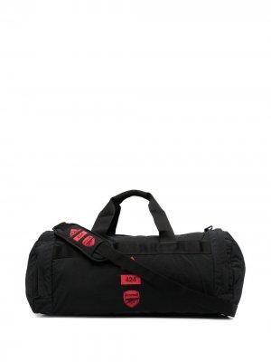 Спортивная сумка Arsenal FC из коллаборации с 424 adidas by. Цвет: черный